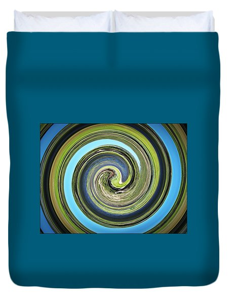 Mother Earth Duvet Cover by Scott Haley