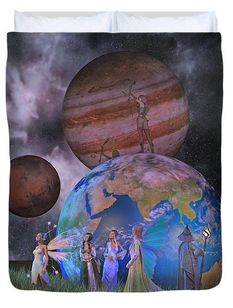 Mother Earth Series Plate2 Duvet Cover