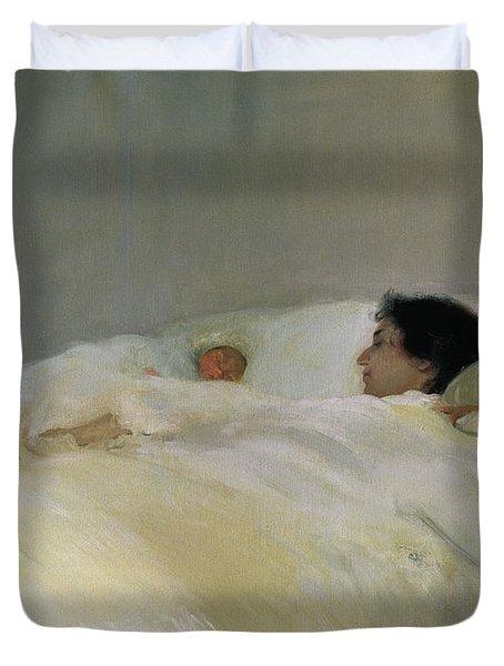 Mother Duvet Cover