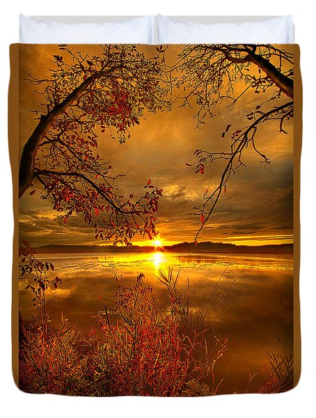 Mother Nature's Son Duvet Cover by Phil Koch
