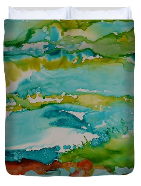 Mother Ocean Duvet Cover by Susan Kubes