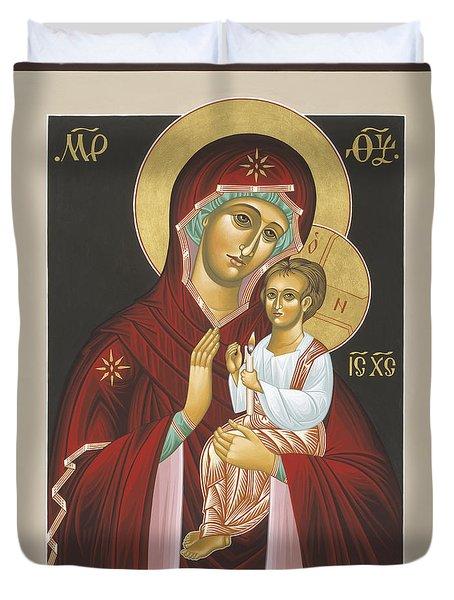Mother Of God Light In All Darkness 016 Duvet Cover