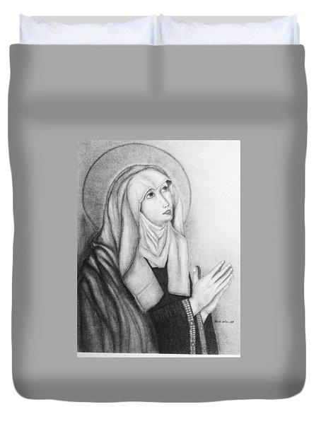Mother Of Sorrows Version1 Duvet Cover