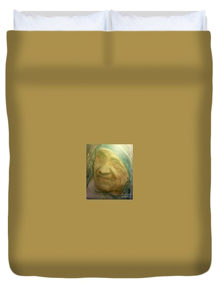 Mother Teresa Duvet Cover