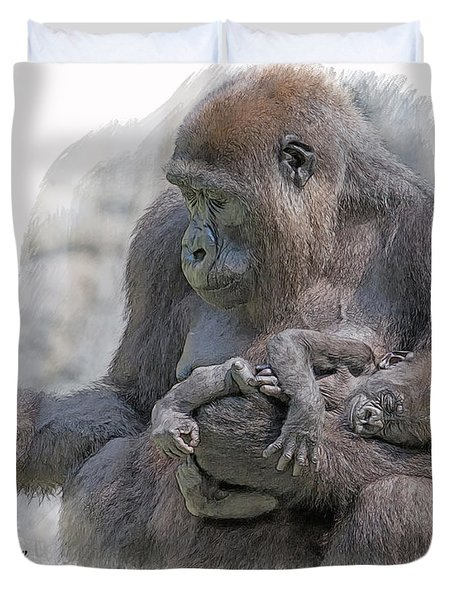 Motherhood 8 Duvet Cover