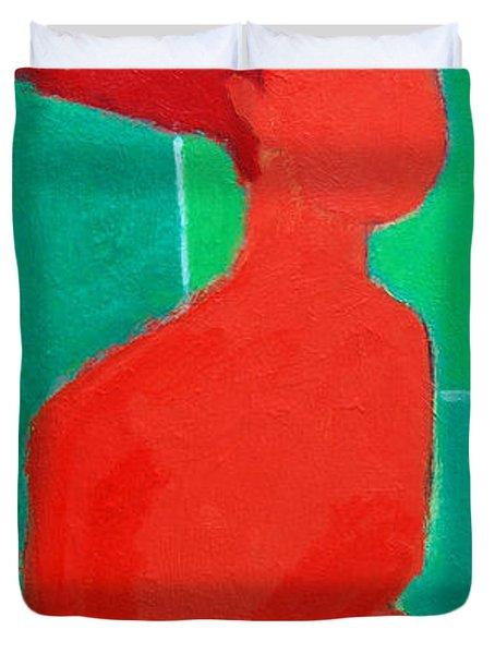 Motherhood Duvet Cover by Ana Maria Edulescu