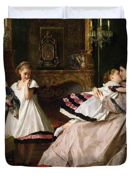 Motherly Love Duvet Cover