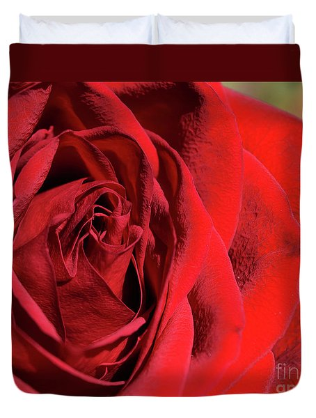 Mother's Day Rose Duvet Cover