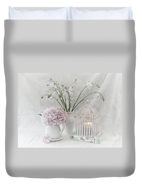 Mother...tell Me Your Memories Duvet Cover by Sherry Hallemeier