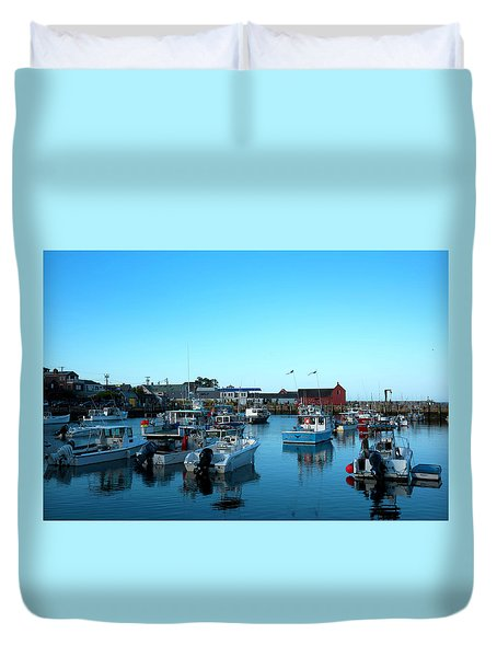 Motif Number 1 Duvet Cover