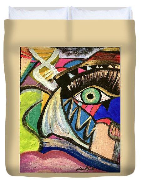 Motley Eye 3 Duvet Cover