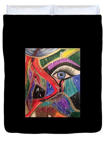 Motley Eye Duvet Cover