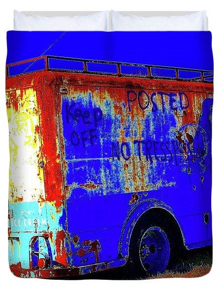 Motor City Pop #13 Duvet Cover