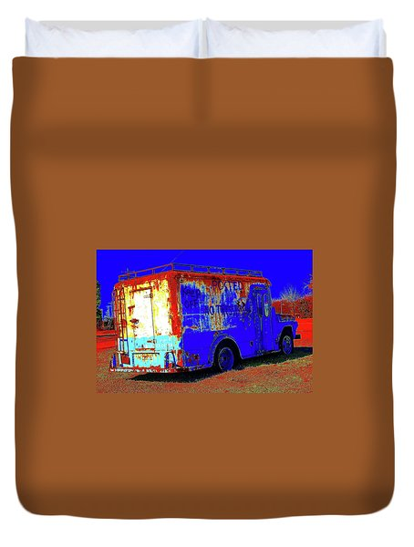 Motor City Pop #13 Duvet Cover