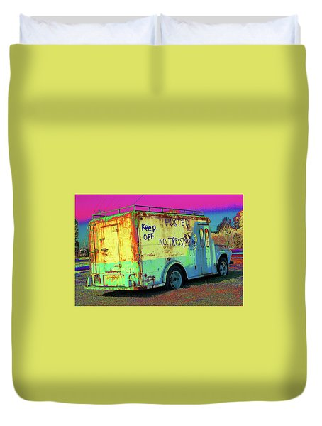Motor City Pop #18 Duvet Cover