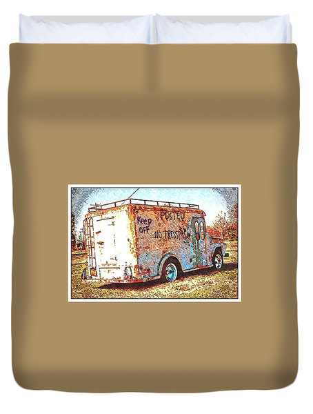 Motor City Pop #19 Duvet Cover