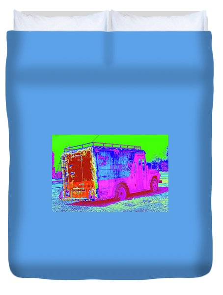 Motor City Pop #20 Duvet Cover