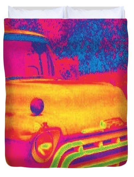 Motor City Pop #6 Duvet Cover