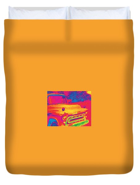 Motor City Pop #6 Duvet Cover