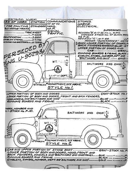 Motor Vehicles Duvet Cover