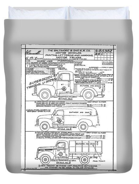 Motor Vehicles Duvet Cover