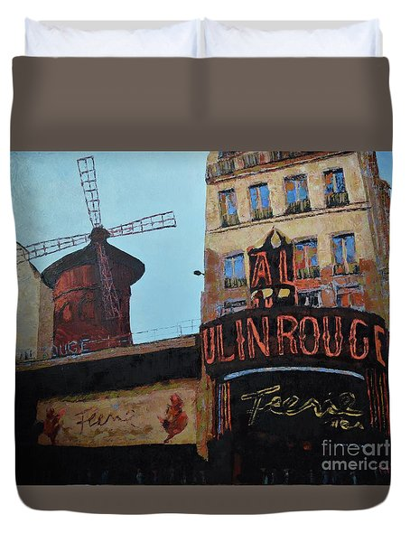 Moulin Rouge Duvet Cover