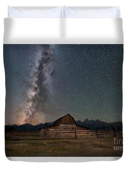 Moulton Barn Milky Way  Duvet Cover