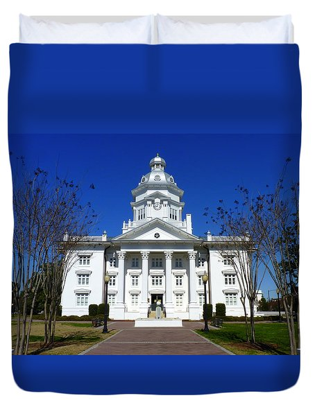 Moultrie Courthouse Duvet Cover