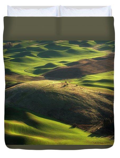 Mounds Of Joy Duvet Cover