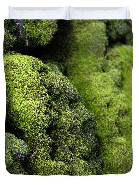 Mounds Of Moss Duvet Cover