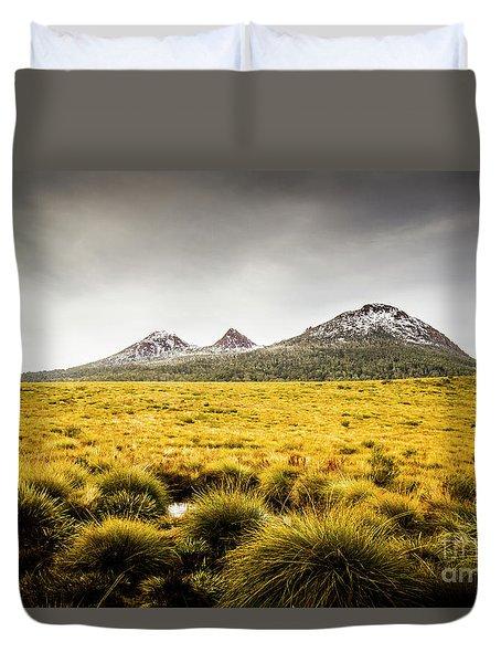 Mount Arrowsmith Tasmania Australia Duvet Cover
