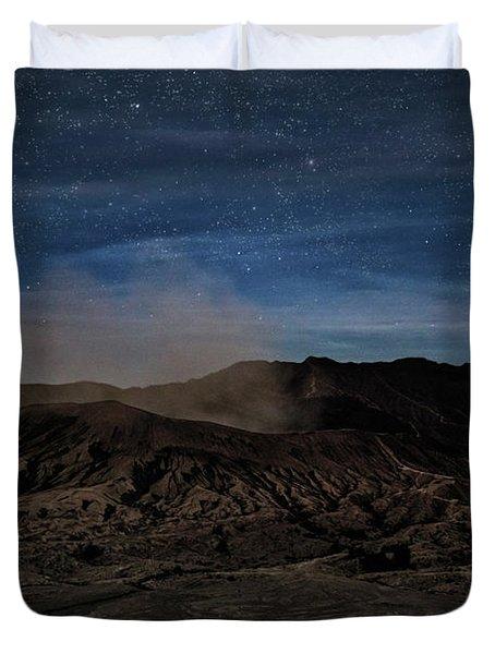 Mount Bromo - Java Duvet Cover