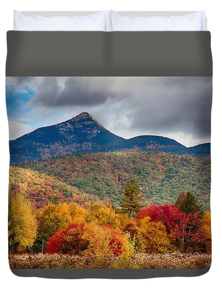 Mount Chocorua-one Duvet Cover by Jeff Folger