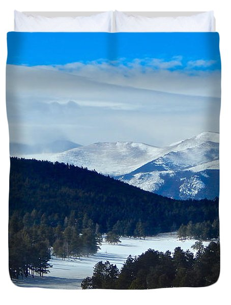 Buffalo Park Duvet Cover