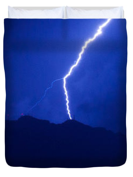 Mount Franklin Lightning Duvet Cover