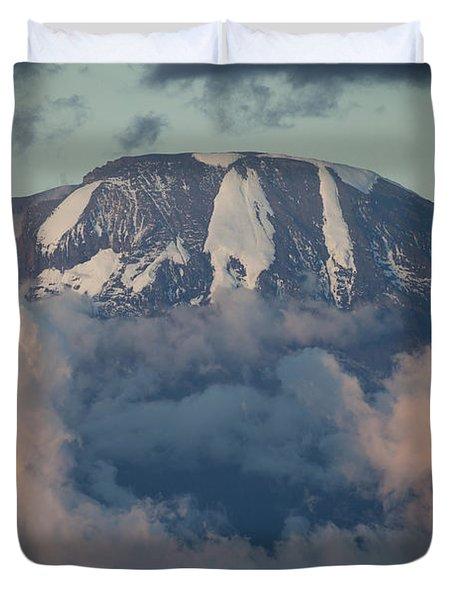 Mount Kilimanjaro Duvet Cover