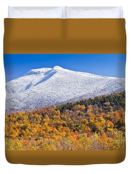 Mount Mansfield Seasonal Transition Duvet Cover