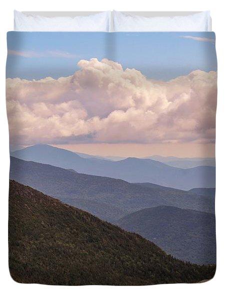 Mount Mansfield Vermont Duvet Cover