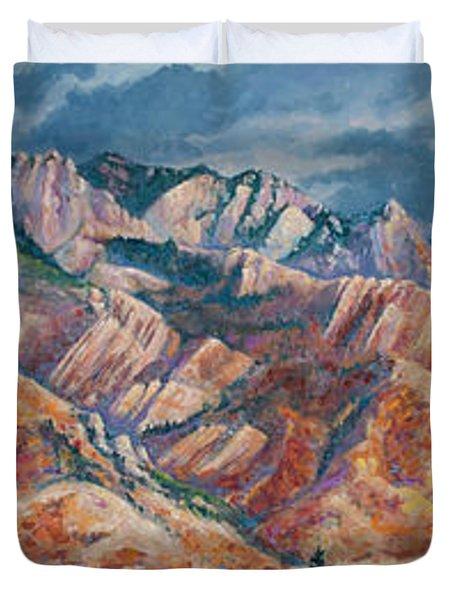 Mount Olympus In Autumn  Duvet Cover