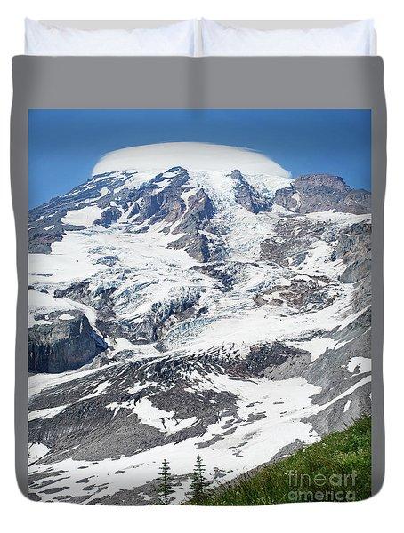 Mount Rainier Duvet Cover