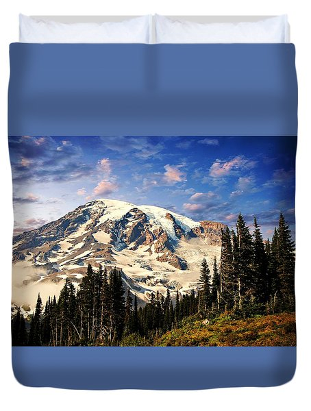 Mount Ranier Duvet Cover