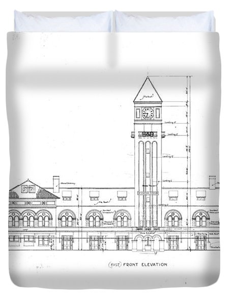 Mount Royal Station Duvet Cover