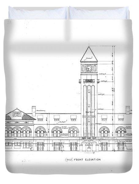 Mount Royal Station Duvet Cover