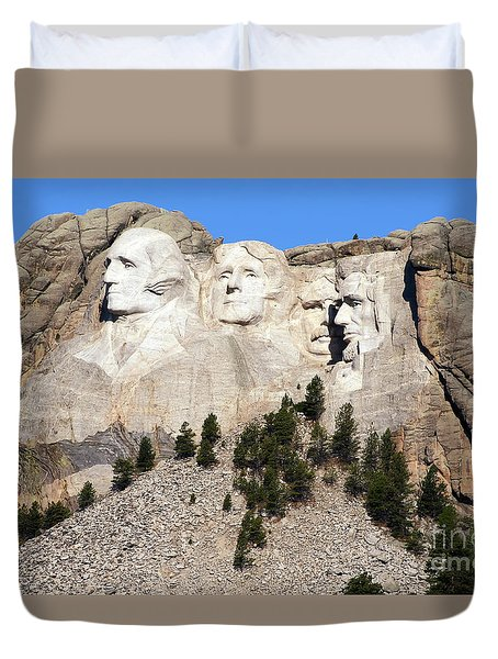 Mount Rushmore I Duvet Cover