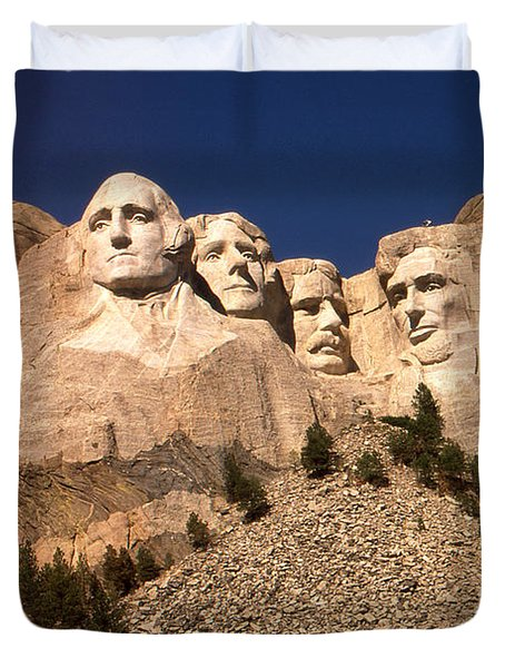 Mount Rushmore National Monument South Dakota Duvet Cover