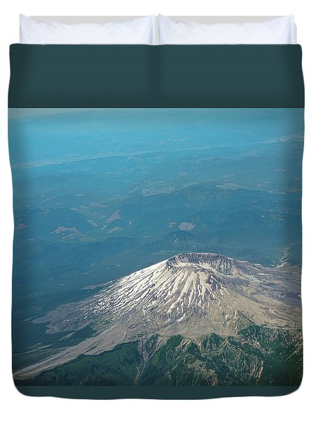 Mount Saint Helens Duvet Cover