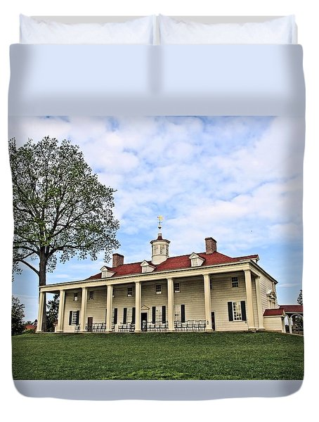 Mount Vernon Duvet Cover