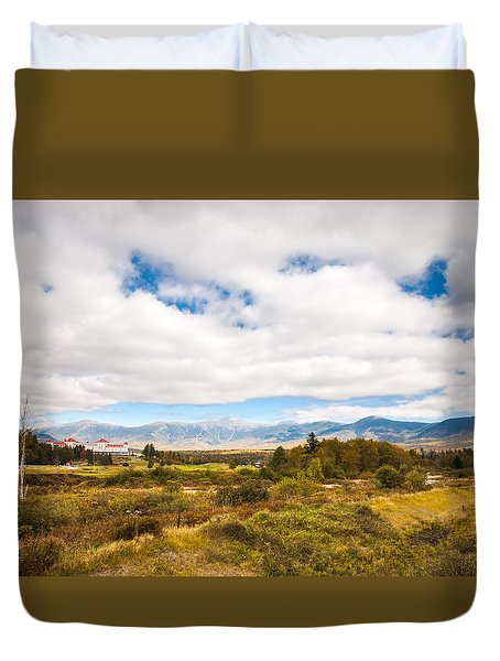 Mount Washington Hotel Duvet Cover