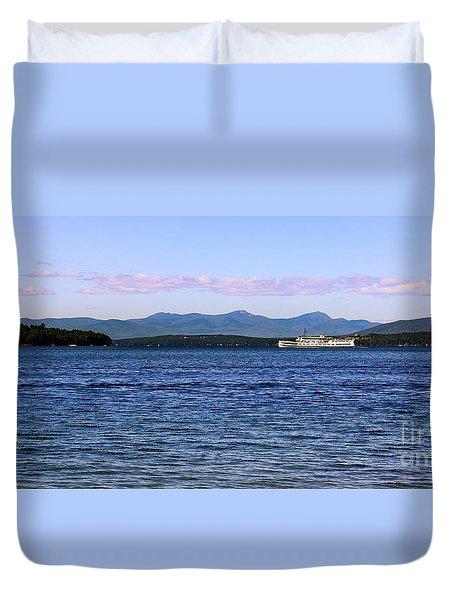 Mount Washington Duvet Cover by Mim White