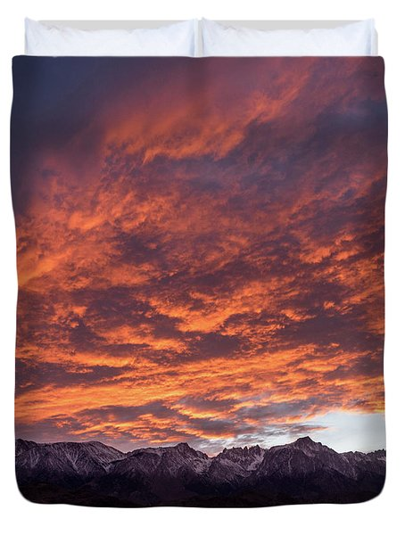 Mount Whitney Duvet Cover